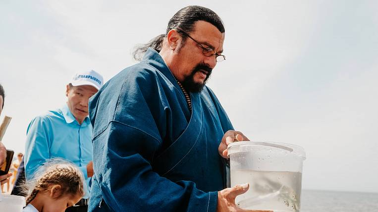 Steven Seagal will become the head of an eco-project to protect Baikal