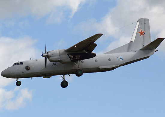 Military An-26 disappeared from radar near Khabarovsk