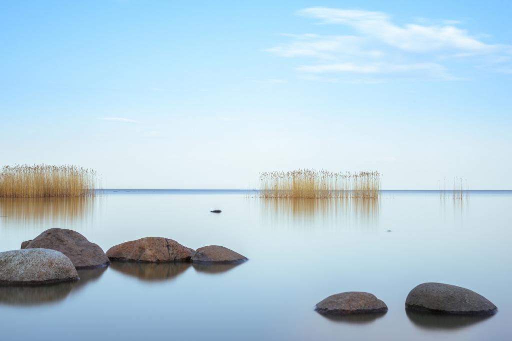peyzazh_Aleksandr Rybin, photo Evening on Ladoga, Cape Osinovets, Lake Ladoga, Leningrad Region.jpg