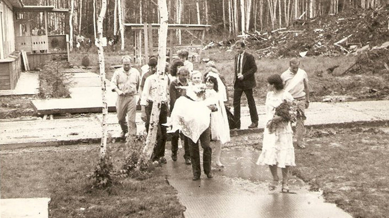 Wedding Komsomol first builders 1986.jpg