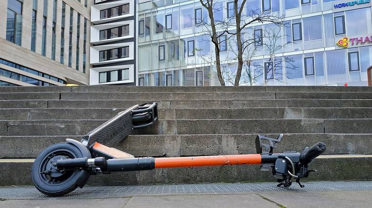 The owner of the electric scooter rental point was detained in Khabarovsk