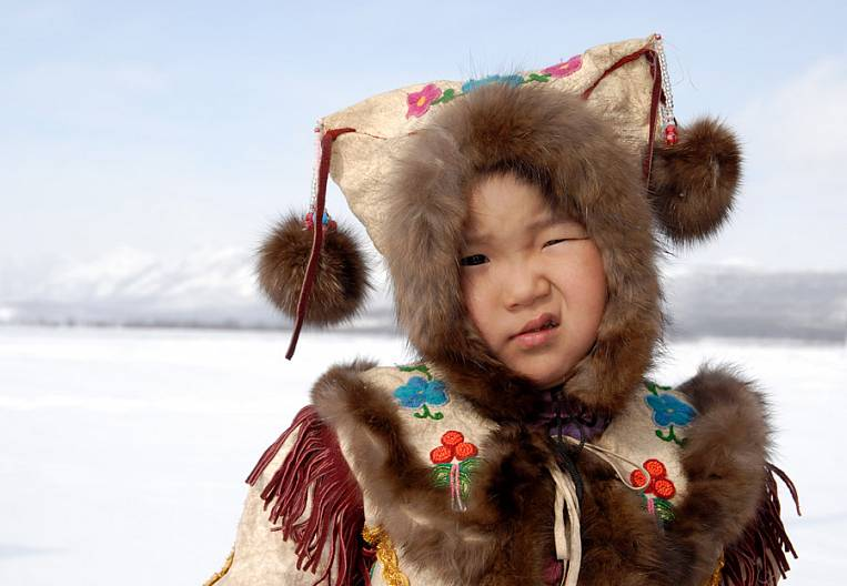 Furs and beads for Yakut fashionistas