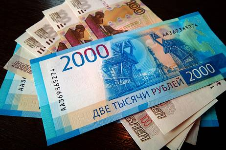Demand for cash has risen sharply in Russia