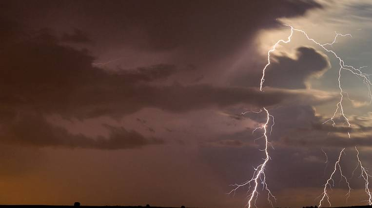 Storm warning announced in Primorye