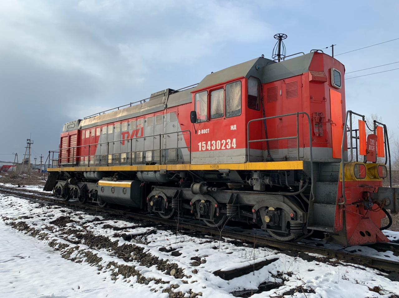 Locomotive hijacking suspect detained in Khabarovsk Territory
