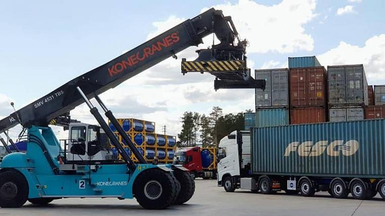 FESCO sent the first container from Europe to Japan via the Far Eastern Federal District