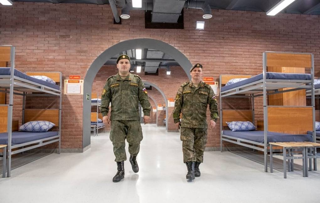 Loft-style barracks commissioned by the military
