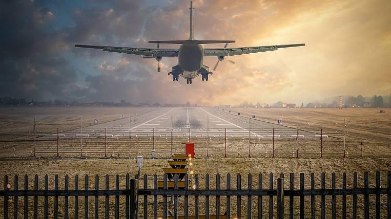 A plane from Primorye made an emergency landing on Sakhalin