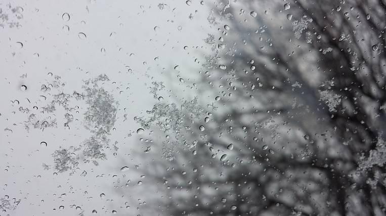 Wet snow will fall in Buryatia