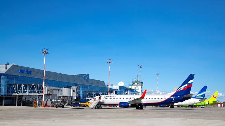 """Unknown persons """"mined"""" the airport in Yakutsk"""