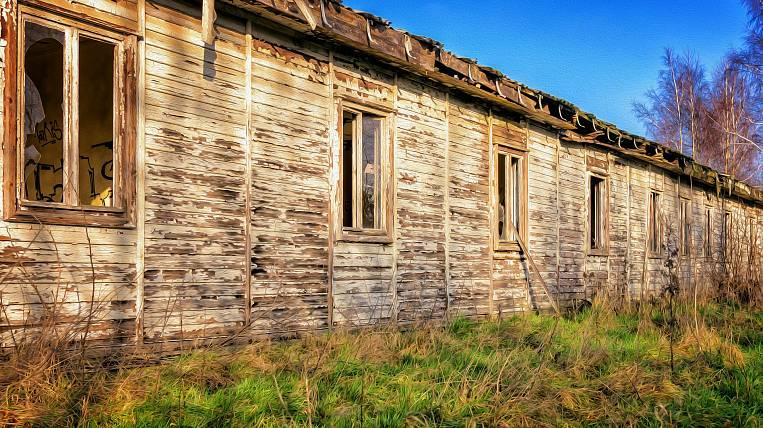 Shabby houses will be resettled for federal money in Sakhalin