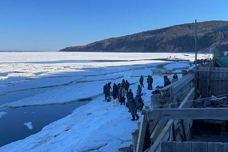 About 30 fishermen found themselves on ice floes on Sakhalin