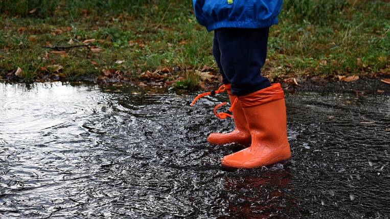 One of the rainiest in history was June in Blagoveshchensk