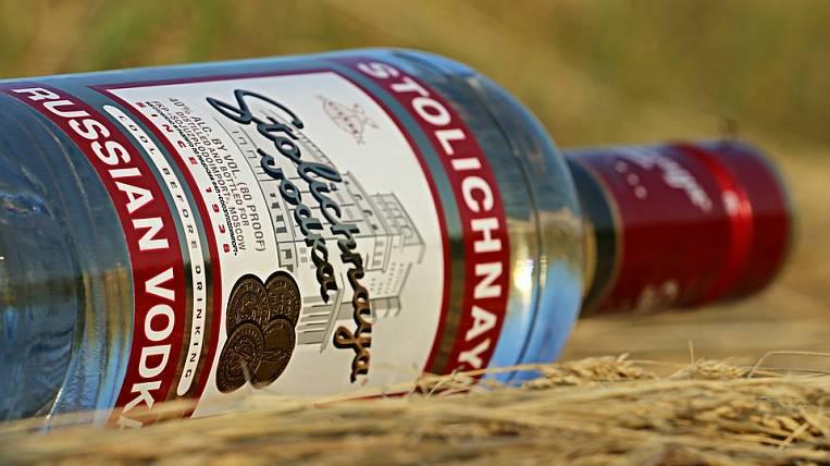 Russia began to export more vodka