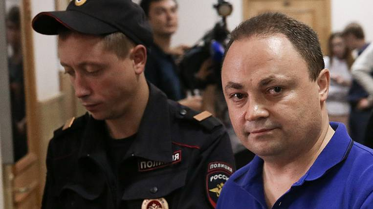 Moscow Basmanny Court temporarily suspended from the post of Mayor of Vladivostok