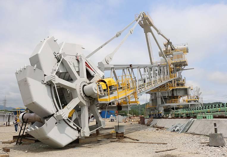 (株)「ボストチヌイ港」:生産能力を倍増