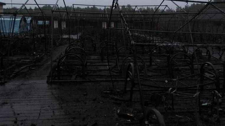 The fourth child died in the hospital after a fire in a tent camp in the Khabarovsk Territory