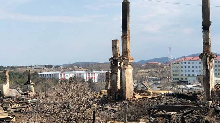 Fire victims from Krasnogorsk on Sakhalin will provide apartments