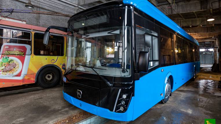 The first electric bus was delivered to Vladivostok