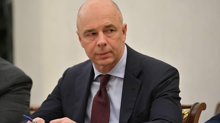 Siluanov called the tax burden on labor prohibitive