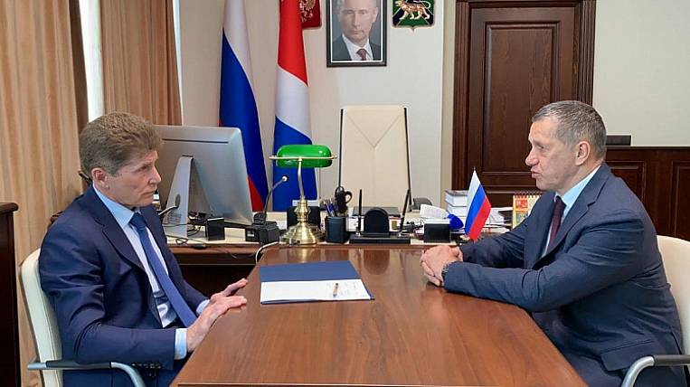 The construction project of the VKAD in Primorye was supported by Trutnev