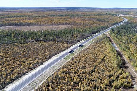 More than 100 km of roads will bring to a standard state in Yakutia