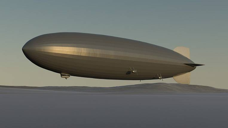 Fleet of airships offer to create for the Vostochny spaceport