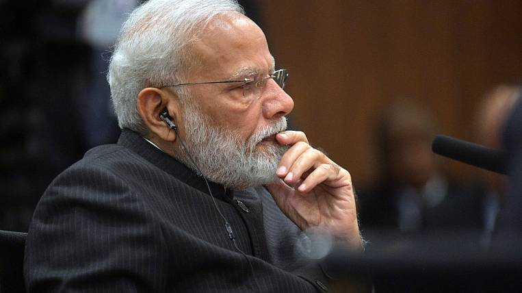 Modi proposed the creation of an emergency fund to fight against coronavirus