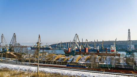 Vanino: port of special purpose
