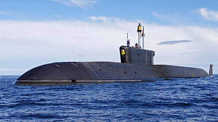"""The submarine """"Alexander Nevsky"""" was solemnly greeted in Kamchatka"""