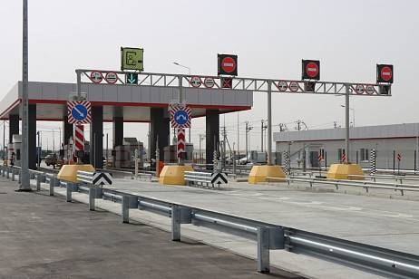 Toll collection system tested on Blagoveshchensk-Heihe bridge