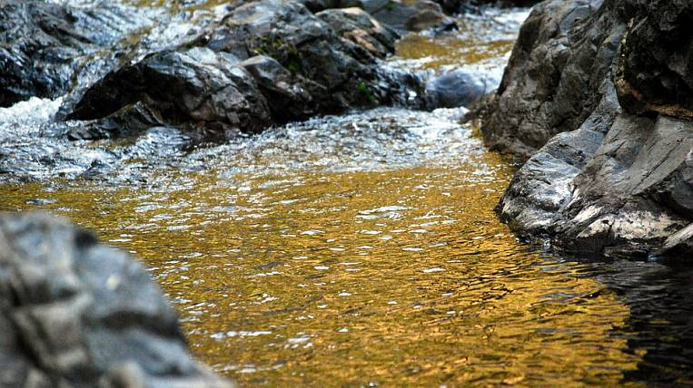 Gold miners will be responsible for the pollution of the river in the Kolyma