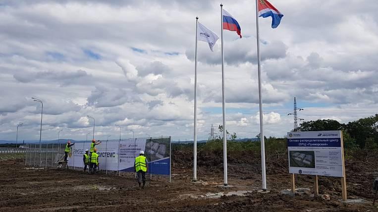 "Resident TOR ""Nadezhdinskaya"" builds a unique wholesale distribution center"