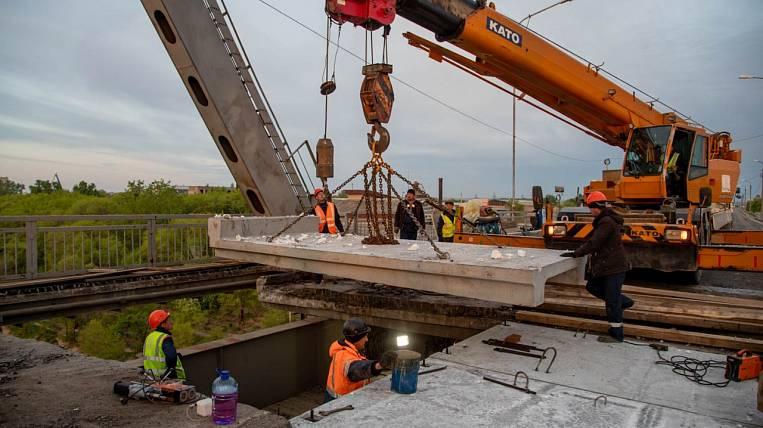 Bridge over Zeya is completely closed due to repairs