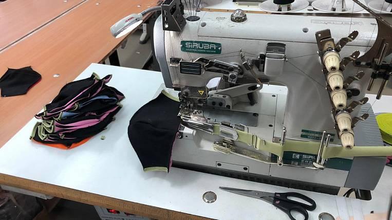 Reusable medical masks began to be sewn in Buryatia