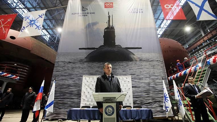 "The submarine ""Magadan"" will be built in St. Petersburg"