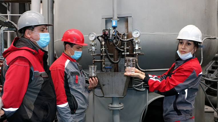 Mine water processing was launched at the Denisovsky GOK in Yakutia