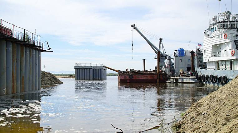 Inspection due to the dismantling of the dam during the flood began in Khabarovsk
