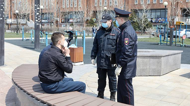 Primorye became the leader in the country in terms of violations of self-isolation