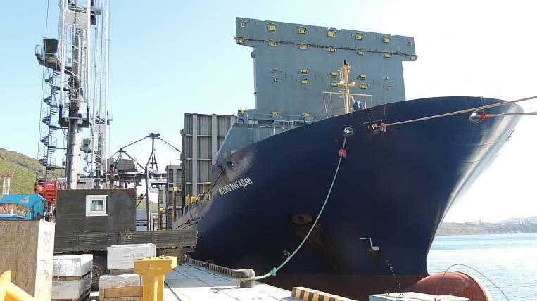 The new ship FESCO earned between Magadan and Primorye