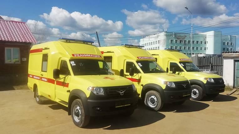 New reanimobiles arrived in Yakutia