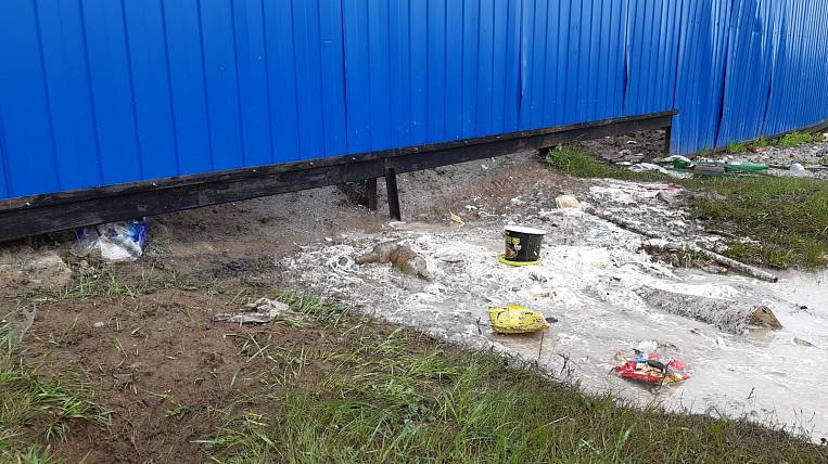 Chinese citizens caught in a sewage dump in Yakutia