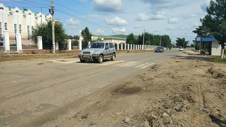Zabaykalsky village Aginskoye received 35 million rubles for the repair of the main street
