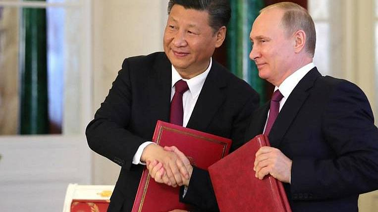 The heads of Russia and China will launch the construction of a nuclear facility