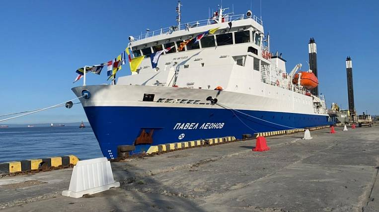 New cargo-passenger ship arrived ahead of schedule to Sakhalin