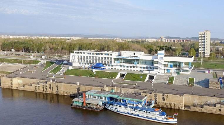 River navigation at Komsomolsk was launched a week late