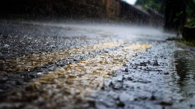 Dangerous meteorological phenomenon recorded in Blagoveshchensk