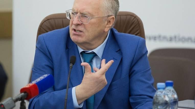 Zhirinovsky proposed to reduce the number of deputies