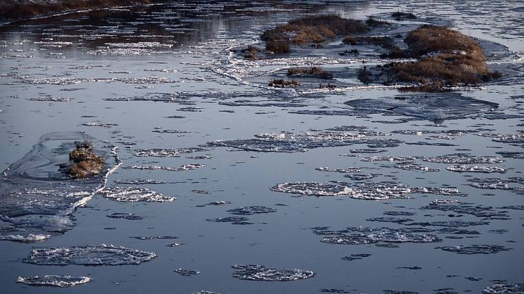 In the Khabarovsk Territory began autumn ice drift