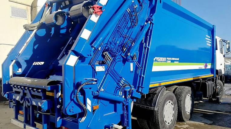 New garbage collection equipment will be purchased in Primorye